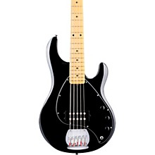 StingRay Ray5 Maple Fingerboard 5-String Electric Bass Black
