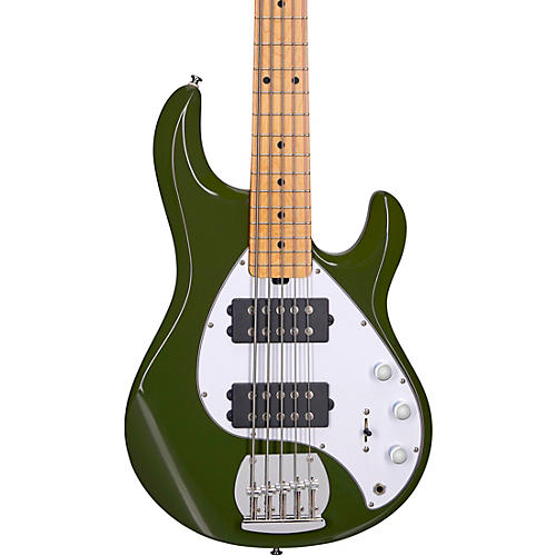 Sterling by Music Man StingRay Ray5HH Maple Fingerboard 5-String Electric Bass