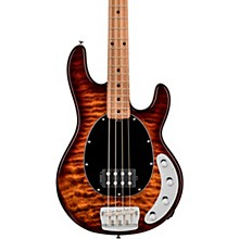 StingRay Roasted Maple Neck Quilt Top Bass Island Burst