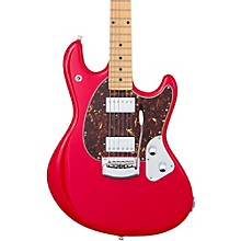 StingRay Trem Maple Fingerboard Electric Guitar Chili Red