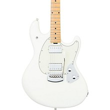 StingRay Trem Maple Fingerboard Electric Guitar Ivory White