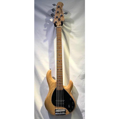 used sterling by music man stingray5 5 string electric bass guitar natural guitar center. Black Bedroom Furniture Sets. Home Design Ideas