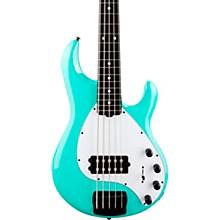 StingRay5 Special H Ebony Fingerboard Electric Bass Cruz Teal