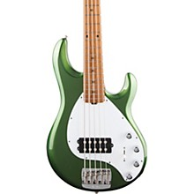 StingRay5 Special H Maple Fingerboard Electric Bass Charging Green