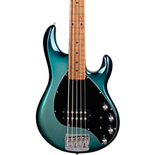 StingRay5 Special H Maple Fingerboard Electric Bass Frost Green Pearl
