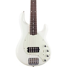 StingRay5 Special H Rosewood Fingerboard Electric Bass Ivory White