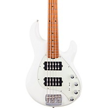StingRay5 Special HH Maple Fingerboard Electric Bass Ivory White