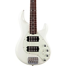 StingRay5 Special HH Rosewood Fingerboard Electric Bass Ivory White
