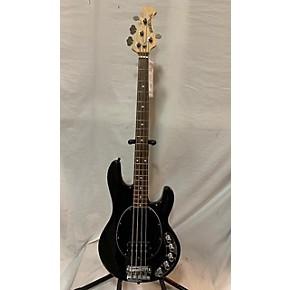 used ernie ball music man stingray 4 string electric bass guitar black guitar center. Black Bedroom Furniture Sets. Home Design Ideas