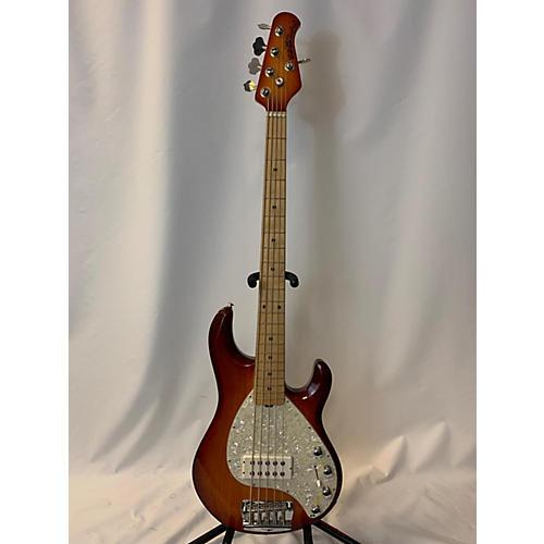 used ernie ball music man stingray 5 string electric bass guitar honey burst guitar center. Black Bedroom Furniture Sets. Home Design Ideas