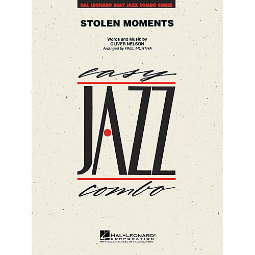 Hal Leonard Stolen Moments Jazz Band Level 2 Arranged by Paul Murtha