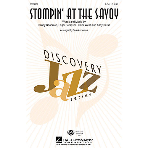 Hal Leonard Stompin' at the Savoy 2-Part arranged by Tom Anderson