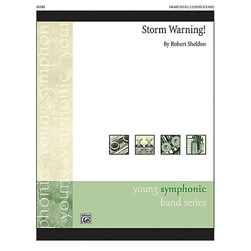 Alfred Storm Warning! Concert Band Grade 2 Set
