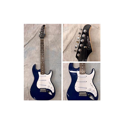 Silvertone Strat Solid Body Electric Guitar