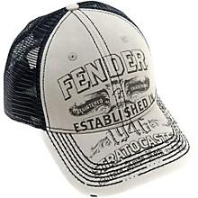 Fender Strat Trucker Hat, Grey, One size