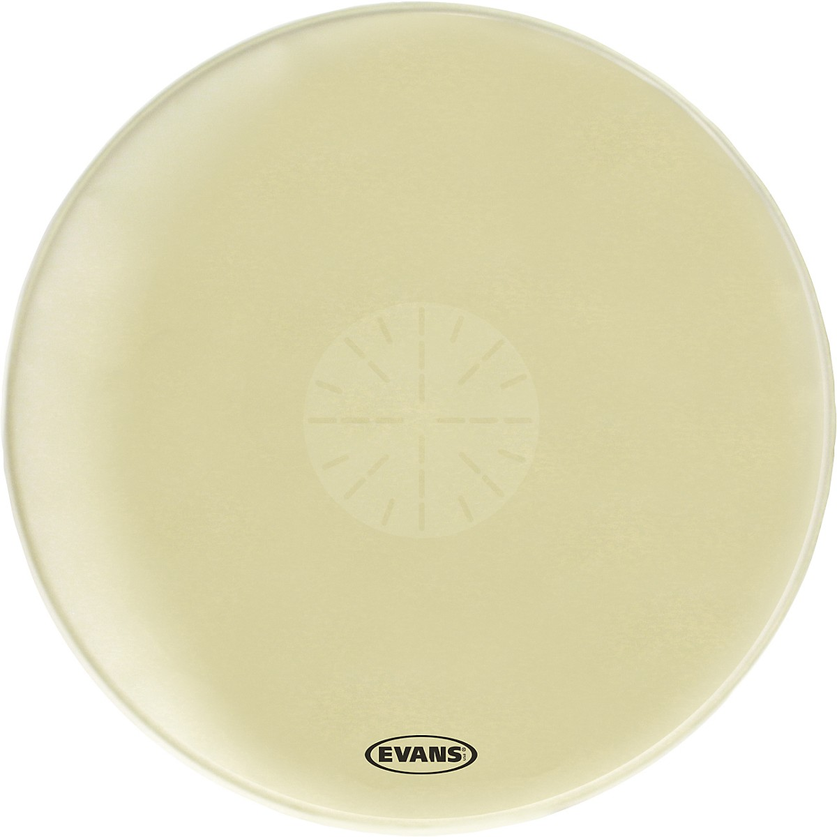 Evans Strata 1400 Orchestral-Bass Drumhead with Power Center Dot