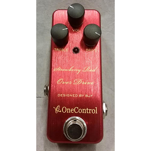 One Control Strawberry Red Overdrive Effect Pedal