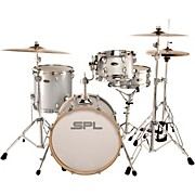Street Bop Birch Ply 4-Piece Shell Pack Silver Metallic Glitter