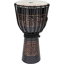 Street Series Black Onyx Djembe Large