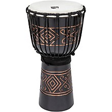 Street Series Black Onyx Djembe Medium