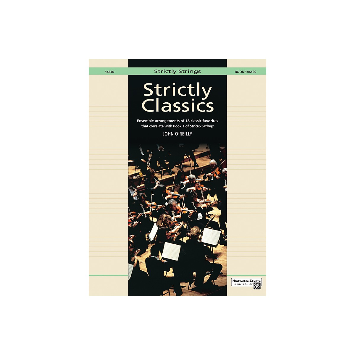 Alfred Strictly Classics Book 1 Bass