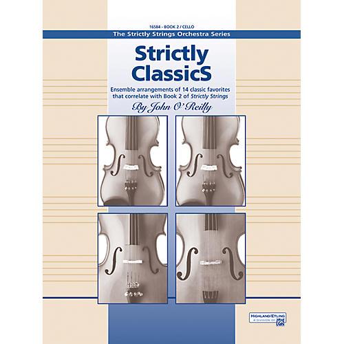 Alfred Strictly Classics Book 2 Cello