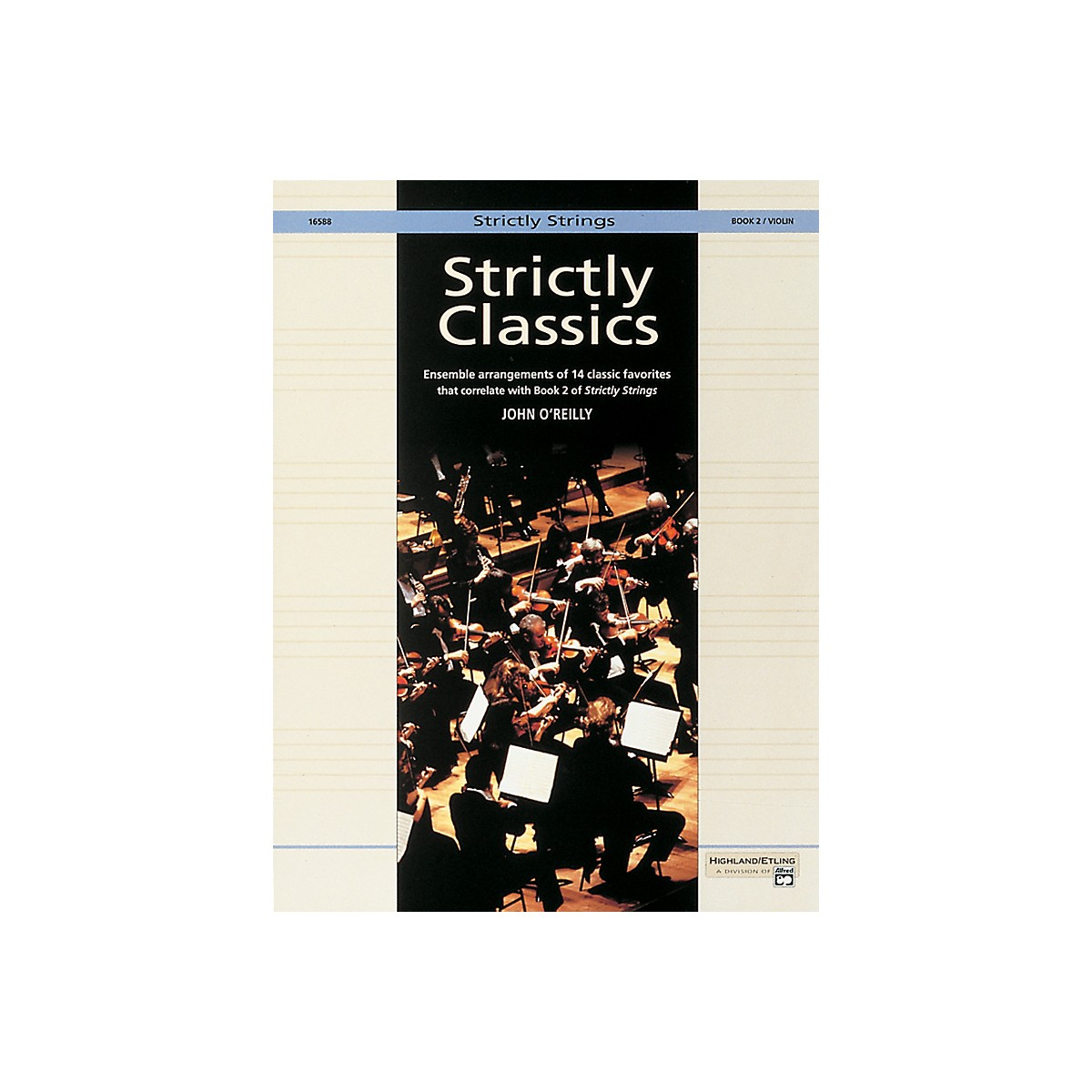 Alfred Strictly Classics Book 2 Violin