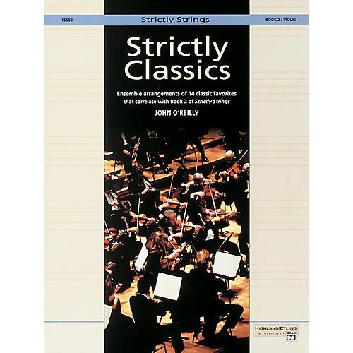 Alfred Strictly Classics Book 2 Violin