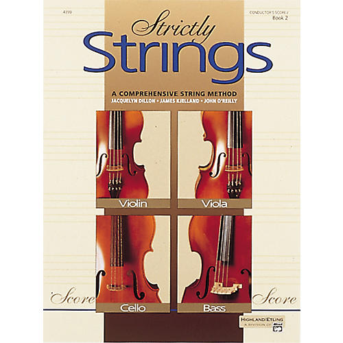 Alfred Strictly Strings Book 2 Conductor's Score