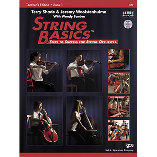 KJOS String Basics Book 1 - Teacher Book