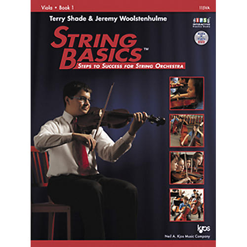 KJOS String Basics Book 1 for Viola