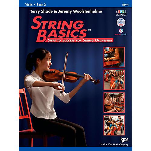 KJOS String Basics Book 2 - Violin