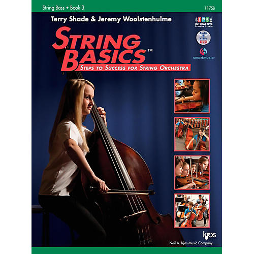 KJOS String Basics Book 3 - String Bass
