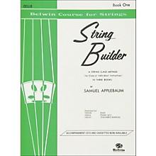 Alfred String Builder Cello Book I