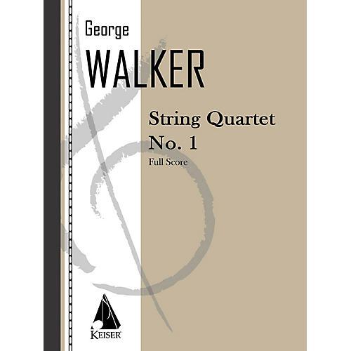 Lauren Keiser Music Publishing String Quartet No. 1 LKM Music Series Composed by George Walker