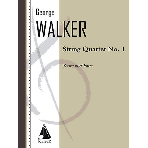 Lauren Keiser Music Publishing String Quartet No. 1 LKM Music Series Composed by George Walker