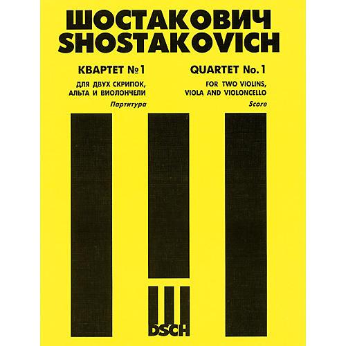 DSCH String Quartet No. 1, Op. 49 (Score) DSCH Series Composed by Dmitri Shostakovich