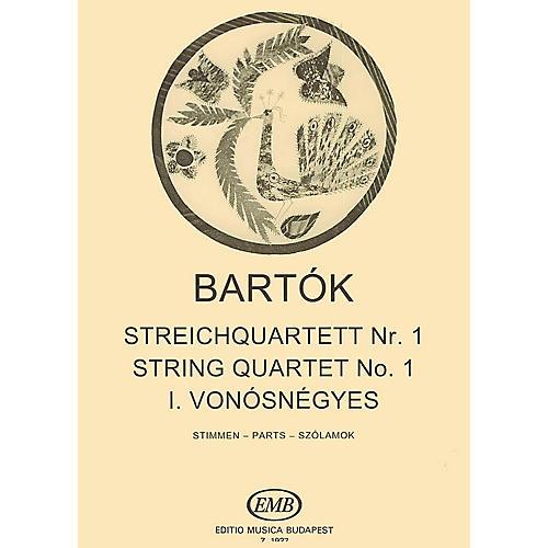 Editio Musica Budapest String Quartet No. 1, Op. 7 EMB Series Composed by Béla Bartók