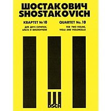 DSCH String Quartet No. 10, Op. 118 (Score) DSCH Series Composed by Dmitri Shostakovich
