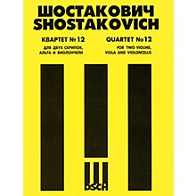 DSCH String Quartet No. 12, Op. 133 (Score) DSCH Series Composed by Dmitri Shostakovich