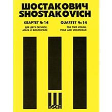 DSCH String Quartet No. 14, Op. 142 (Parts) DSCH Series Composed by Dmitri Shostakovich