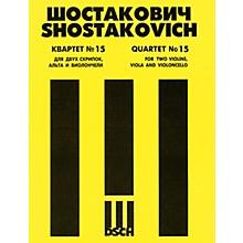 DSCH String Quartet No. 15, Op. 144 (Parts) DSCH Series Composed by Dmitri Shostakovich
