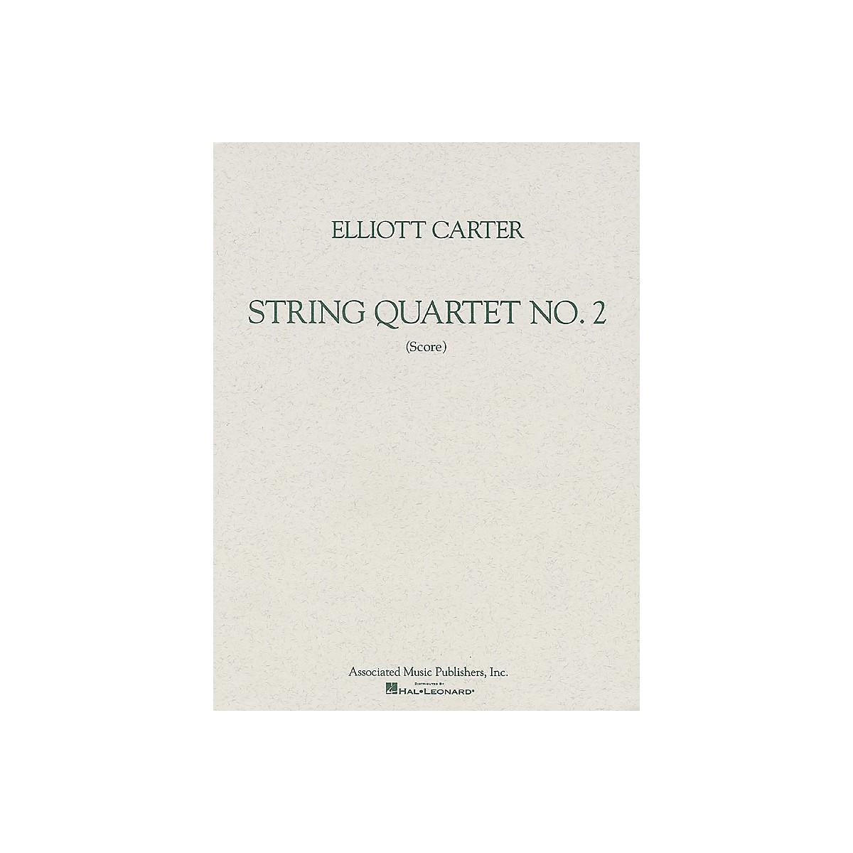 Associated String Quartet No. 2 (1959) (Study Score) Study Score Series Softcover Composed by Elliott Carter