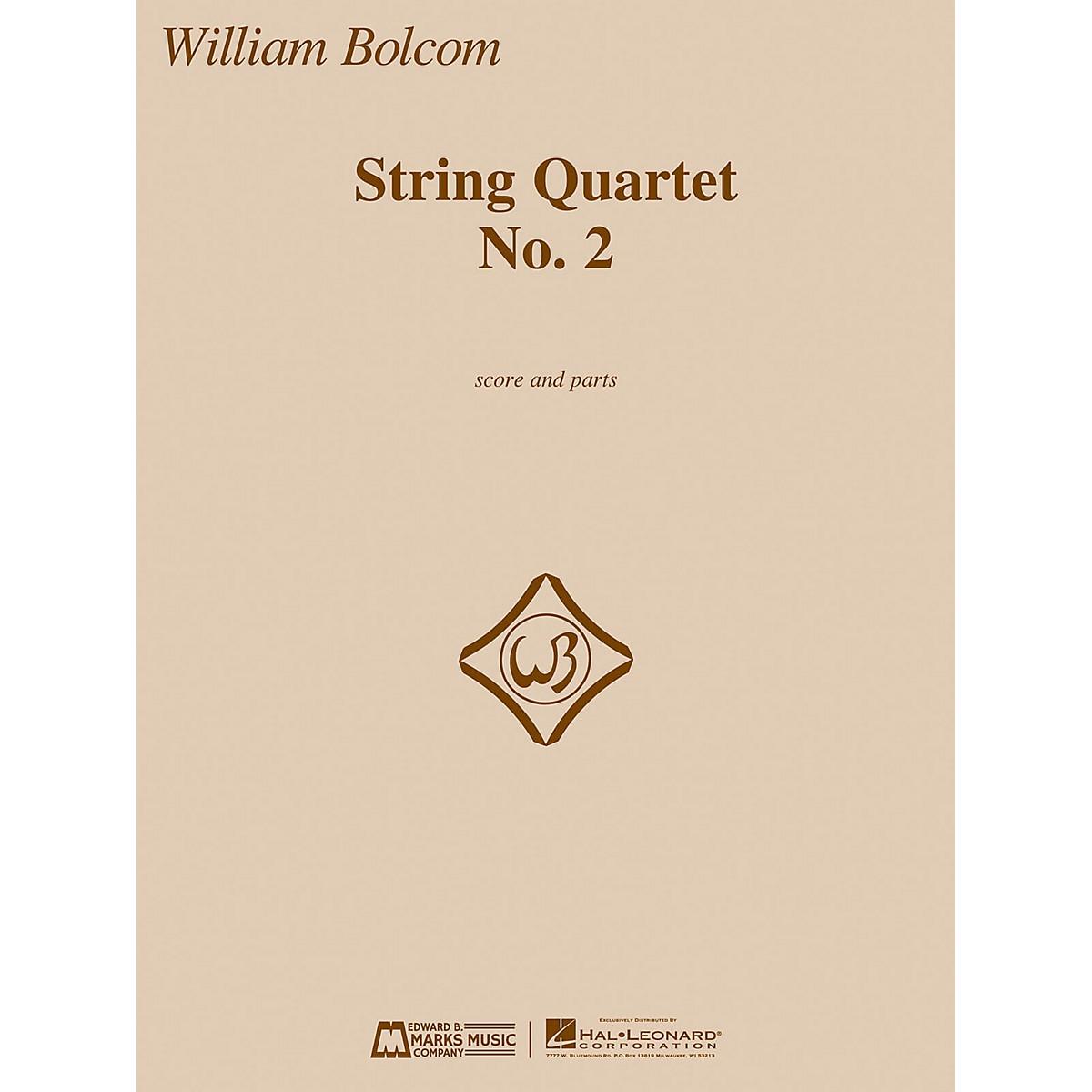 Edward B. Marks Music Company String Quartet No. 2 E.B. Marks Series Composed by William Bolcom