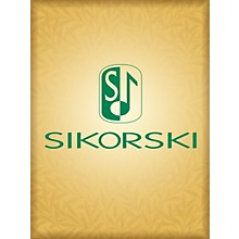 Sikorski String Quartet No. 3 (Full Score) String Series Composed by Alfred Schnittke