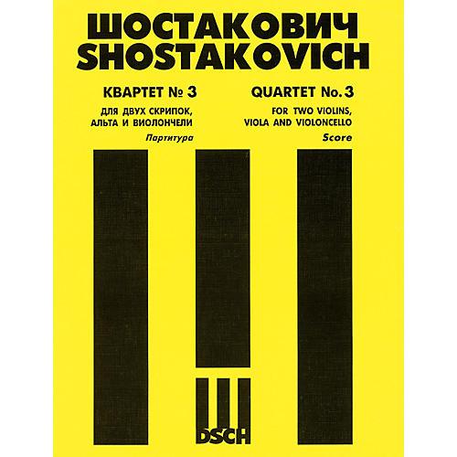 DSCH String Quartet No. 3, Op. 73 (Score) DSCH Series Composed by Dmitri Shostakovich