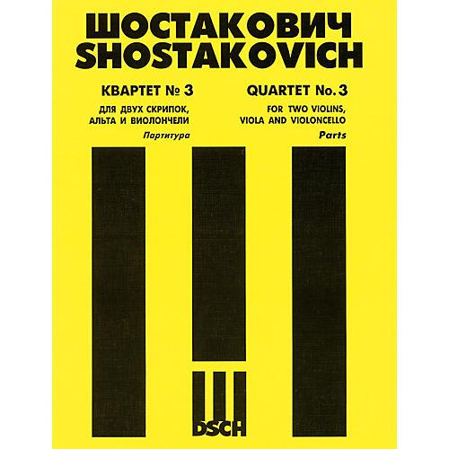 DSCH String Quartet No. 3, Op. 73 (Set of Parts) DSCH Series Composed by Dmitri Shostakovich