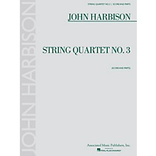 Associated String Quartet No. 3 (Score and Parts) String Ensemble Series Composed by John Harbison