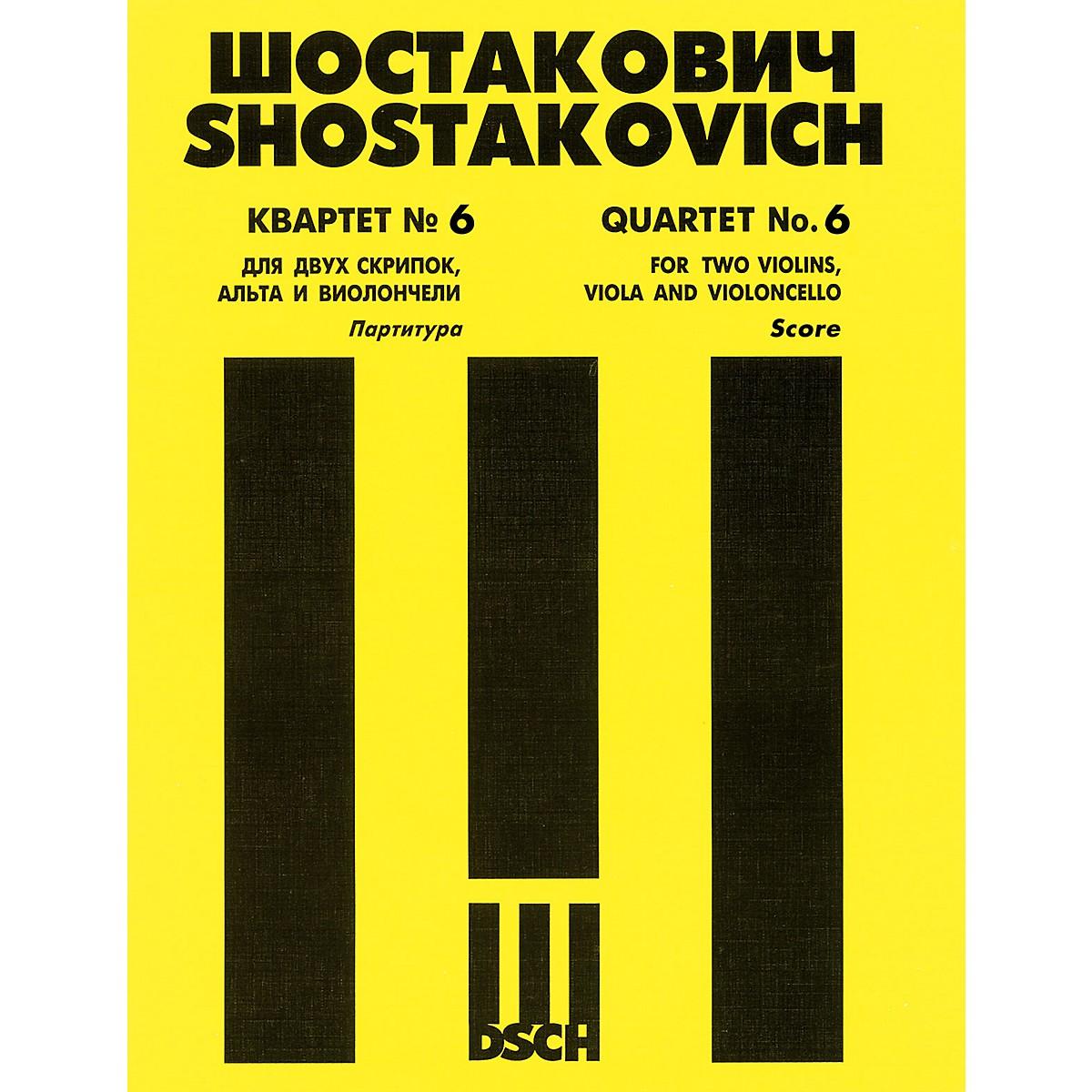 DSCH String Quartet No. 6, Op. 101 (Score) DSCH Series Composed by Dmitri Shostakovich