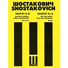 DSCH String Quartet No. 6, Op. 101 (Score) DSCH Series Composed by Dmitri Shostakovich